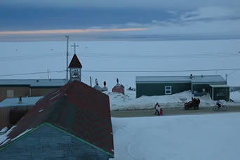 11 pm in Igloolik