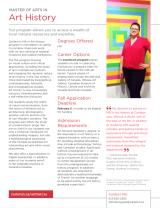 Image of graduate brochure