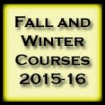 courses 2015-16