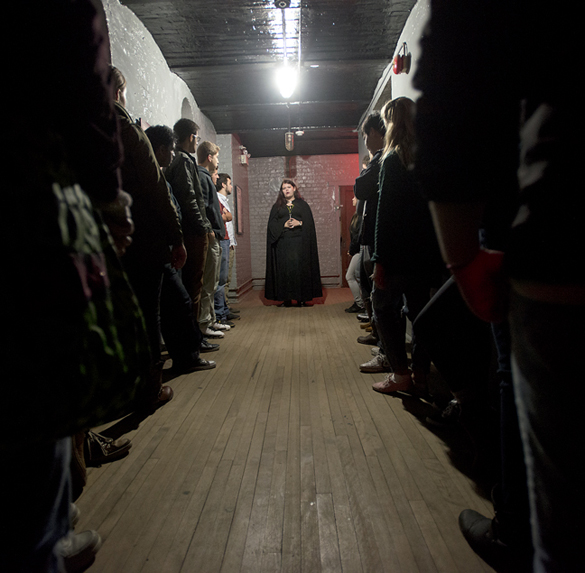 Photo at the Carleton County Gaol.