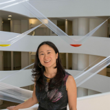 Profile photograph of Ming Tiampo at the Guggenheim Museum, New York, N.Y., 2013. Photo: David Heald