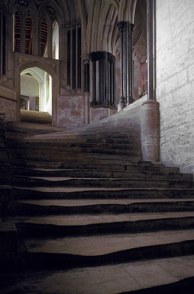 Well Cathedral [staircase]