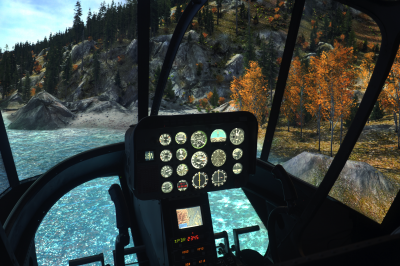 Bell 206 Helicopter Simulator