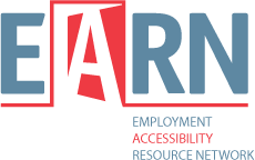 Employment Accessibility Resource Network (EARN) logo