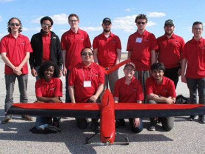 Photo for the news post: Carleton Earns Innovation Award at Unmanned Systems Canada Student Competition