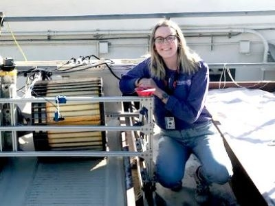 Photo for the news post: Reaching for the Stars Aerospace Engineering Alumna Kelsey Doerksen Dreams Bigger