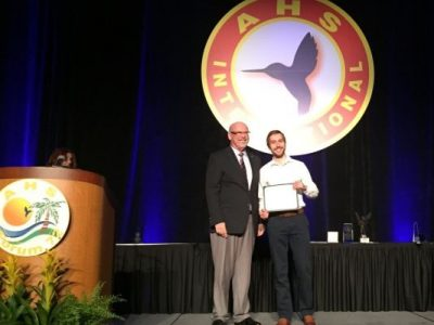 Photo for the news post: Carleton's rotorcraft research honored at the Annual Forum of the American Helicopter Society