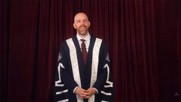 Thumbnail for: Message from President and Vice-Chancellor Benoit-Antoine Bacon