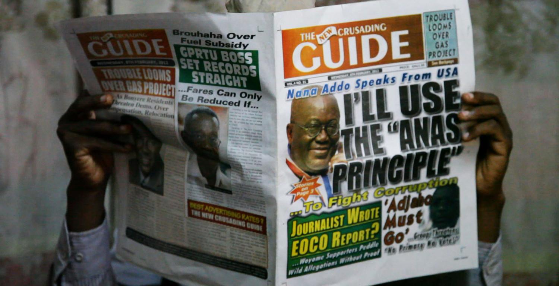 Film: CHAMELEON, about Ghanaian investigative journalist Anas Aremeyaw Anas