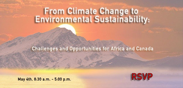 From Climate Change to Environmental Sustainability: Challenges and Opportunities for Africa and Canada