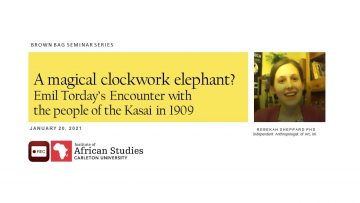Thumbnail for: A magical clockwork elephant? Emil Torday's Encounter with the people of the Kasai in 1909