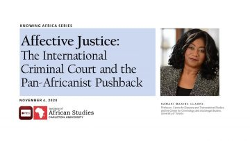 Thumbnail for: Affective Justice The International Criminal Court and the Pan Africanist Pushback