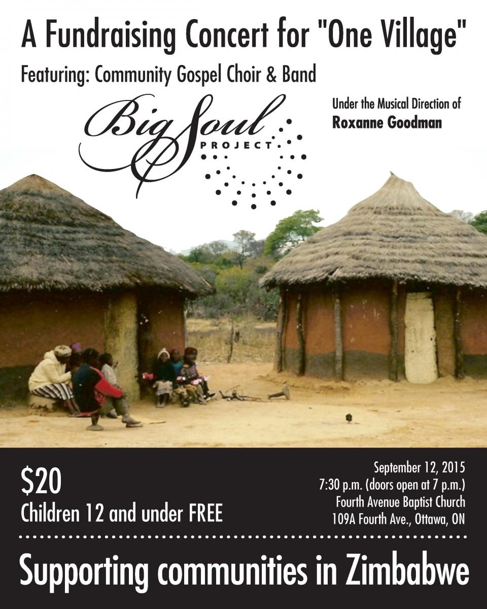 One Village – Fundraising Concert feat. Big Soul Project (BSP)