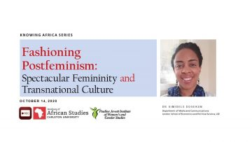 Thumbnail for: Fashioning Postfeminism Spectacular Femininity and Transnational Culture by Simidele Dosekun