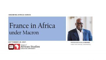 Thumbnail for: France in Africa under Macron, Achille Mbembe