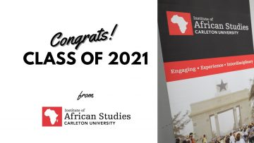 Thumbnail for: Message from the Institute of African Studies