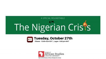 Thumbnail for: The Nigerian Crisis—A Virtual Roundtable