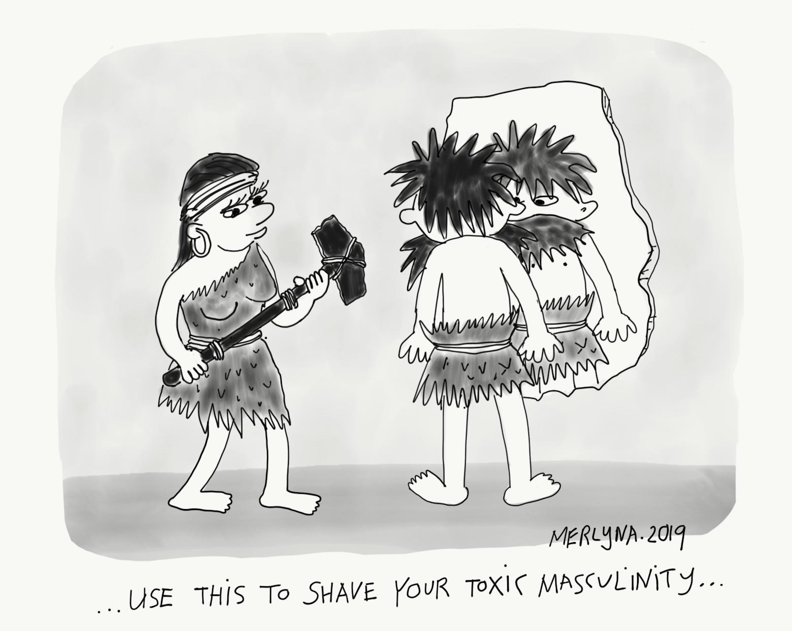 Cartoon] Toxic Masculinity - ALiGN: Alternative Global