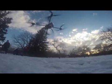 Thumbnail for: Carleton University students build LTE drone