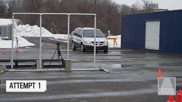 Thumbnail for: Crash Dummy Test at Carleton University