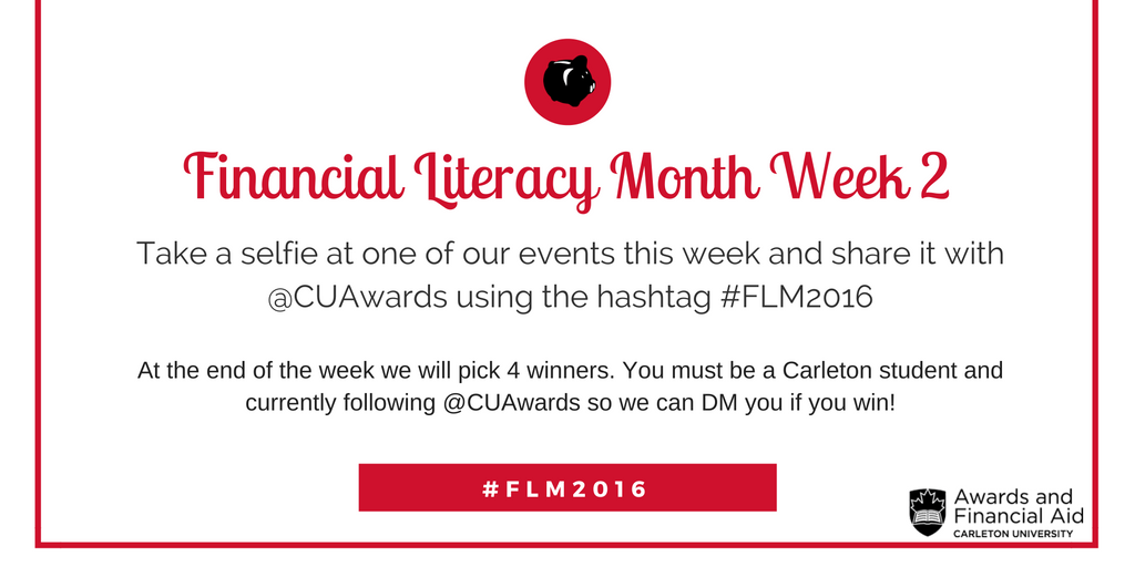 Financial Literacy Month Week 2 Contest