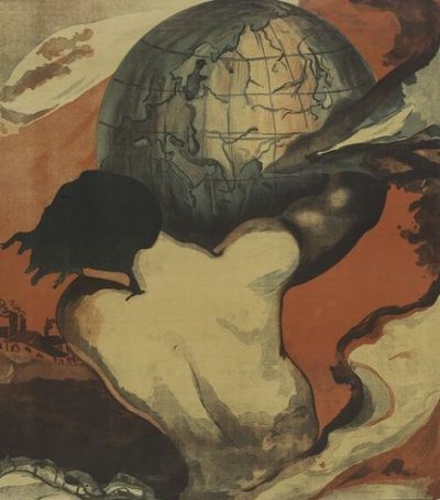 Globalization, Culture and Power Image: a worker holding up the globe