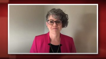 Thumbnail for: Congratulations from Faculty of Public Affairs Dean Brenda O'Neill