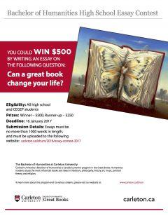 Carleton university essay contest