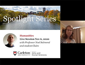 View Quicklink: Spotlight Video: Meet Our Professors and Students