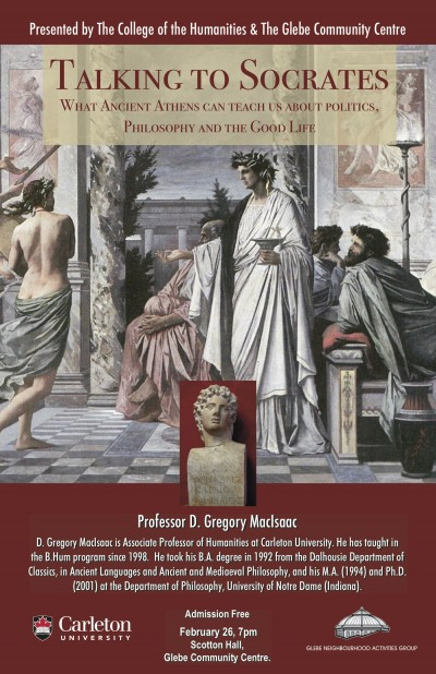 poster lecture - talking to Socrates