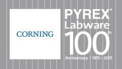 PYREX_100_Logo_SqaureLockUp_White_301BlueCorningLogo