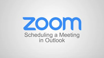 Thumbnail for: How to Schedule a Zoom Meeting in Outlook