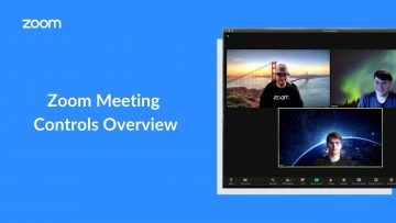 Thumbnail for: How to use Zoom Meeting Controls
