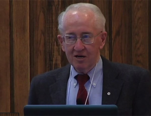 View Quicklink: Ralph Haas speaks at annual JA lecture