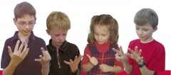 Children counting