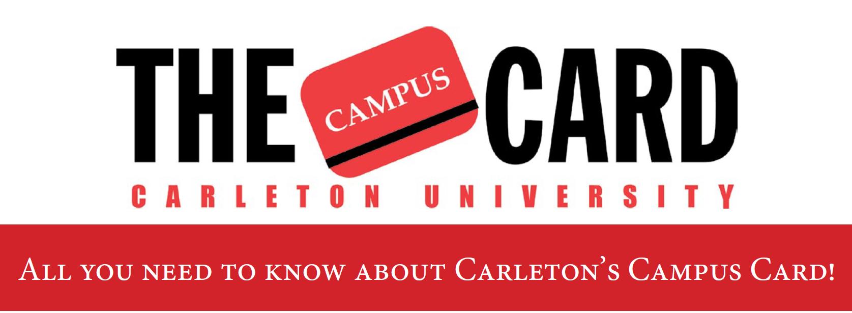 carleton card e card: