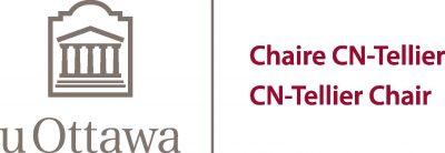 Logo of CN-Tellier Chair University of Ottawa