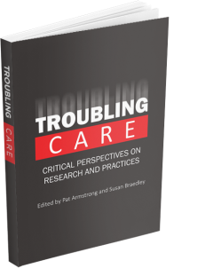 """Cover for book """"Troubling Care"""""""
