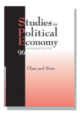 Cover for Studies in Political Economy