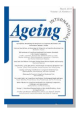 Cover for International Journal of Ageing