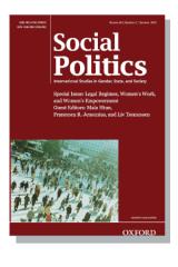 Cover for Social Politics
