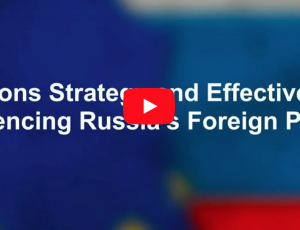"""View Quicklink: Podcast """"Sanctions Strategy and Effectiveness"""""""