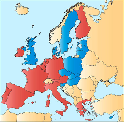 extension what is regional integration eu learning map of eu countries using the euro source european community 2004