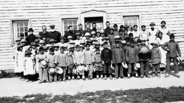 The residential school system of canada