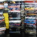 DVD-pile