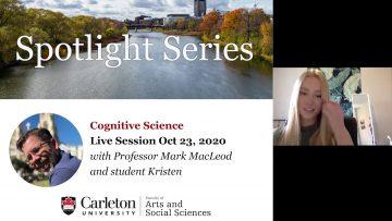 Thumbnail for: Program Spotlight on Cognitive Science