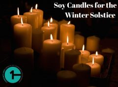 soy candles for winter solstice