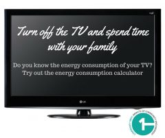 A television