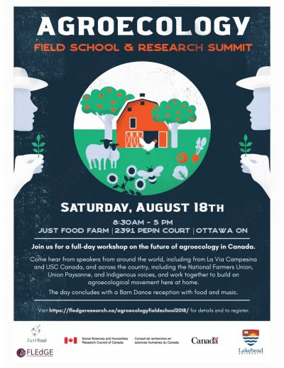 Poster for Agroecology Field School and Research Summit