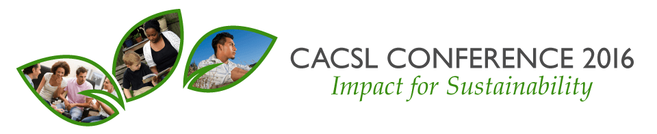 The CACSL Conference 2016: Impact for Sustainability banner image